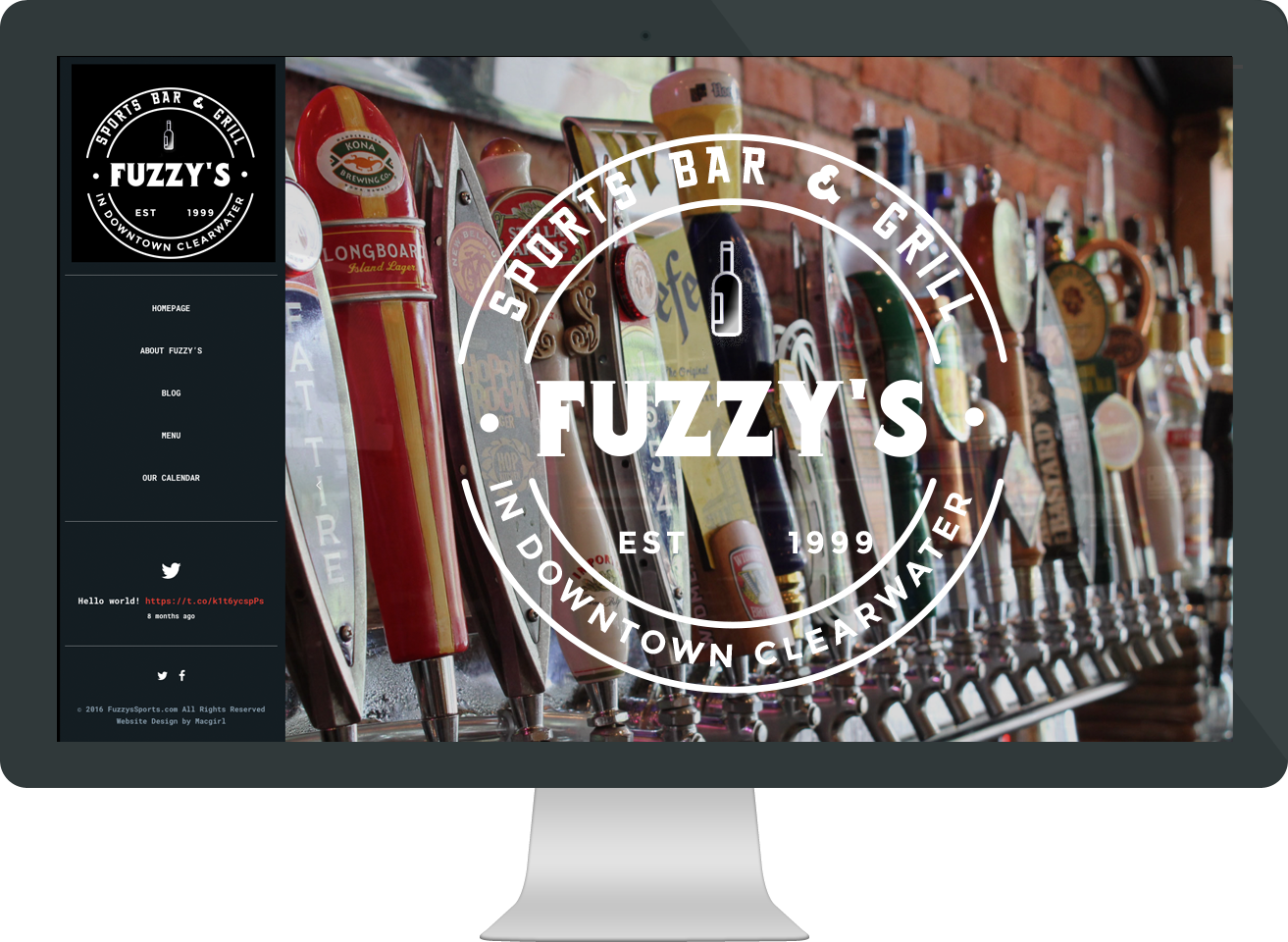 fuzzy's sports bar and grill website